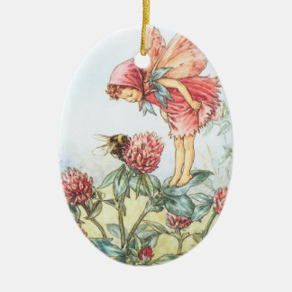 Red Clover Fairy Ornaments