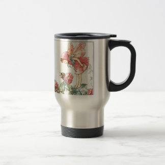 Red Clover Fairy Traveling Mug