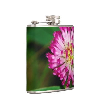 Red Clover Hip Flask