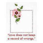 Red Clover Love Letterhead