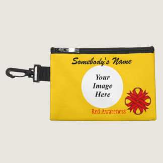 Red Clover Ribbon Accessory Bags