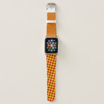 Red Clover Ribbon by Kenneth Yoncich Apple Watch Band