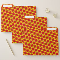Red Clover Ribbon by Kenneth Yoncich File Folder