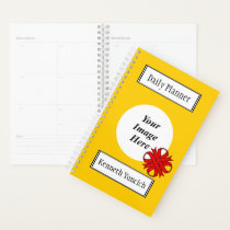 Red Clover Ribbon by Kenneth Yoncich Planner