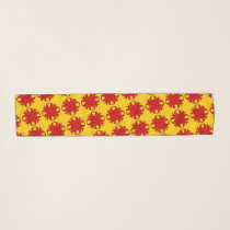 Red Clover Ribbon by Kenneth Yoncich Scarf