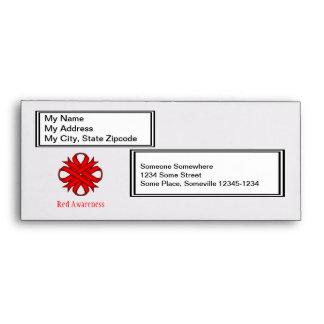 Red Clover Ribbon Envelope