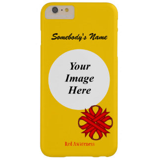 Red Clover Ribbon Template by Kenneth Yoncich Barely There iPhone 6 Plus Case