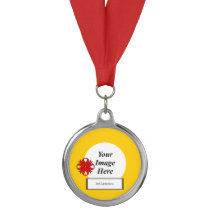 Red Clover Ribbon Template by Kenneth Yoncich Medal