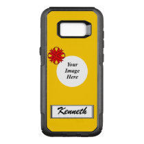 Red Clover Ribbon Template by Kenneth Yoncich OtterBox Commuter Samsung Galaxy S8  Case