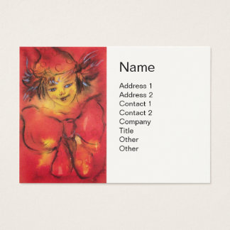 RED CLOWN BUSINESS CARD