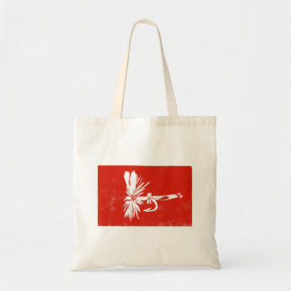 """""""Red Coachman"""" Dry Fly Budget Tote"""