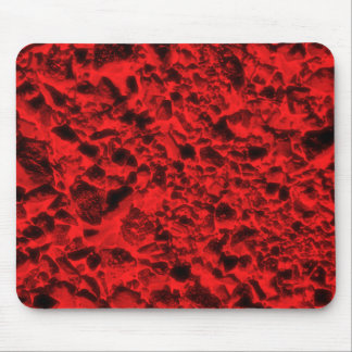Red coals mouse pad