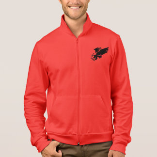 Red coat, eagles of Engineering Printed Jackets