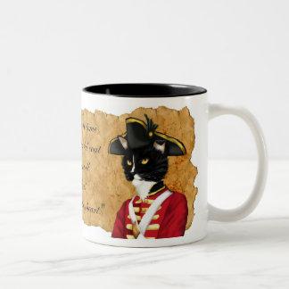 Red Coat Soldier Drink Mug