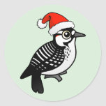 Red-cockaded Woodpecker Santa Sticker