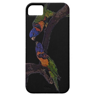 Red collar lorikeet iPhone SE/5/5s case