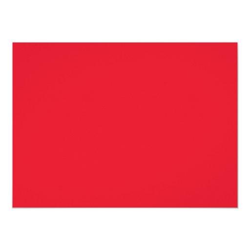 "Red Color 5.5 x 7.5 inch 5.5"" X 7.5"" Invitation Card"