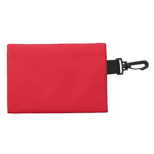 Red Color Clip-on Accessory Accessories Bags