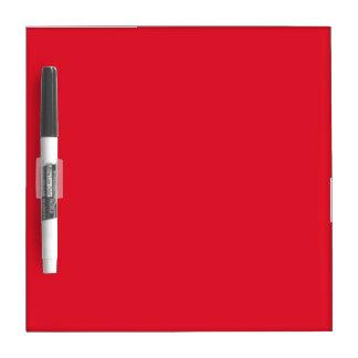 Red Color Dry Erase Board