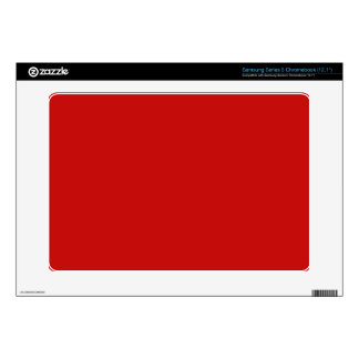 red color samsung chromebook decals