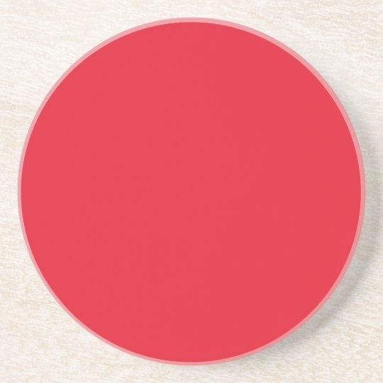 Red Color Sandstone Coaster