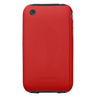red color tough iPhone 3 cases