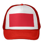 Red Color Trucker Hat