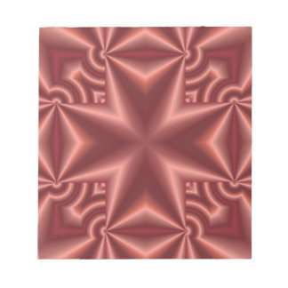 Red colored Cross pattern Memo Notepad