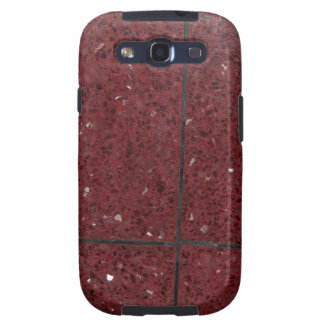 red colored tiles galaxy s3 cover