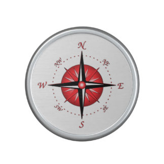 Red Compass Rose Speaker