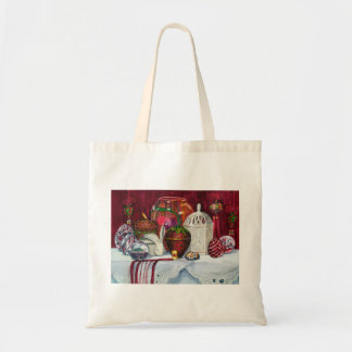 Red Composition No. 4 Tote Bag