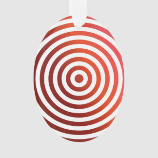 Red concentric circles