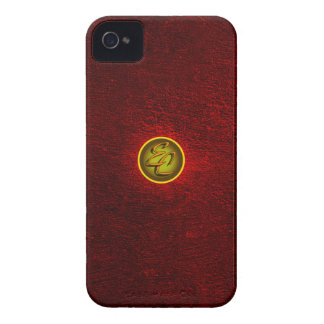 Red Concrete Creations iPhone 4 Case