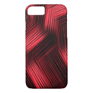 Red Contemporary Abstract iPhone 7 Case