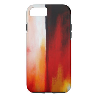 Red Contemporary Modern Abstract Artwork iPhone 8/7 Case