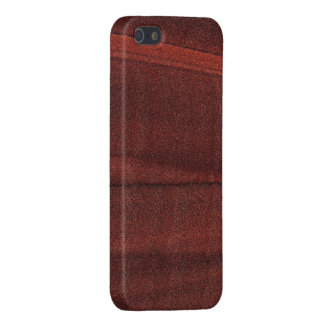 RED COPPER STONE RUFF CUT MANDELBULB 3D. FRACTAL COVER FOR iPhone SE/5/5s