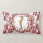 Red Coral American MoJo Pillow