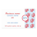 Red Coral Business Card