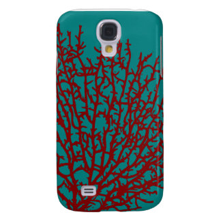 Red Coral iphone case Samsung Galaxy S4 Case