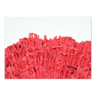 Red Coral Picture. Card