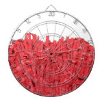Red Coral Picture. Dart Board