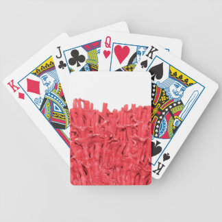 Red Coral Picture Playing Cards