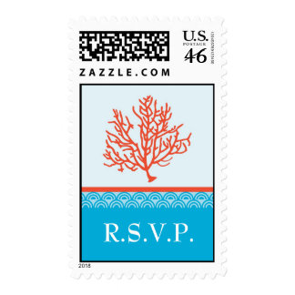 Red Coral Postage