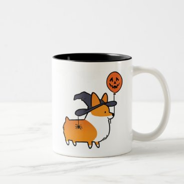 Halloween Themed Red Corgi Halloween Mug   CorgiThings