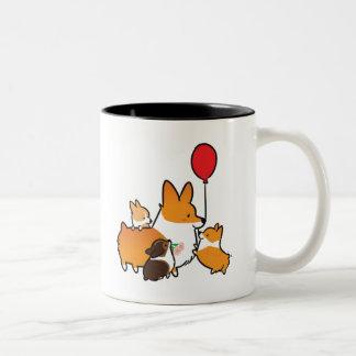 Red Corgi I Love Mom Mug | CorgiThings