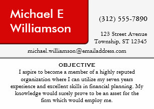 Resume business cards templates zazzle red corner resume business cards colourmoves