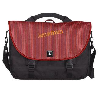 Red Corrugated Cardboard Laptop bag Template