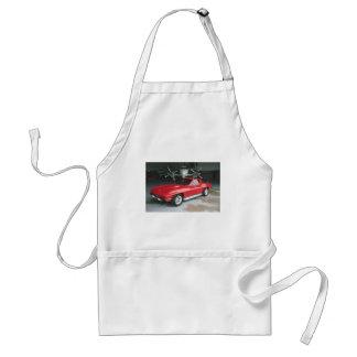Red Corvette Apron