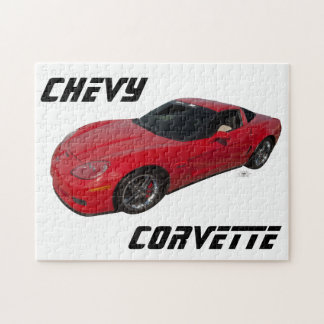 Red Corvette Jigsaw Puzzles