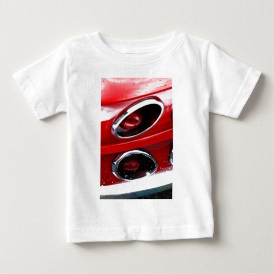 Red Corvette Stingray Baby T-Shirt